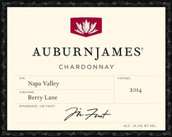 2014 AuburnJames Chardonnay Berry Lane Napa Valley