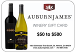 Electronic Winery Gift Card